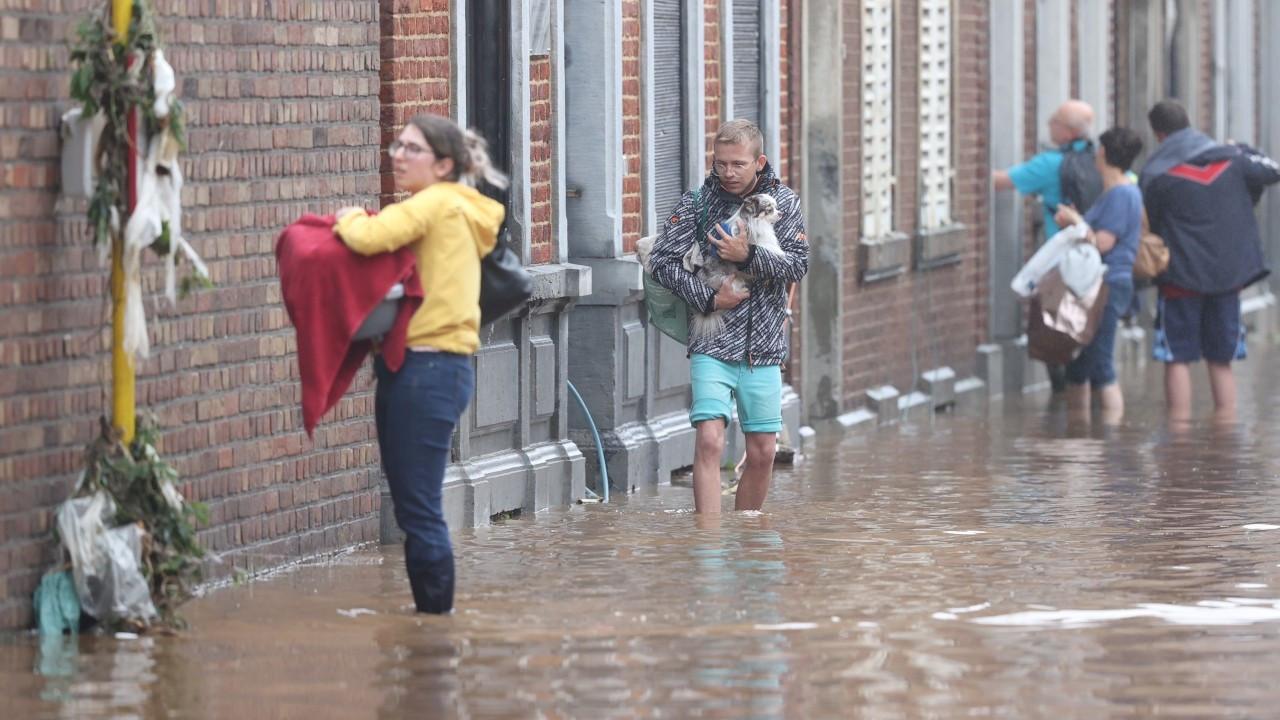 Belçika'daki sellerde ölü sayısı 9'a çıktı