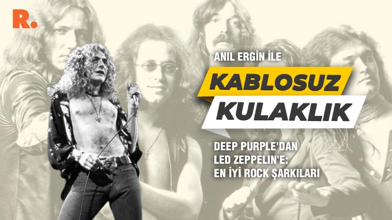 Deep Purple'dan Led Zeppelin'e: En iyi rock şarkıları