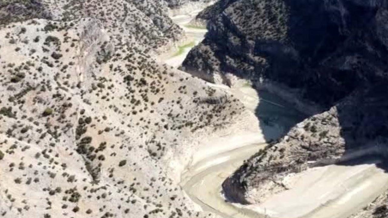 Vahşi sulama İnceğiz Kanyonu'nu susuz bıraktı