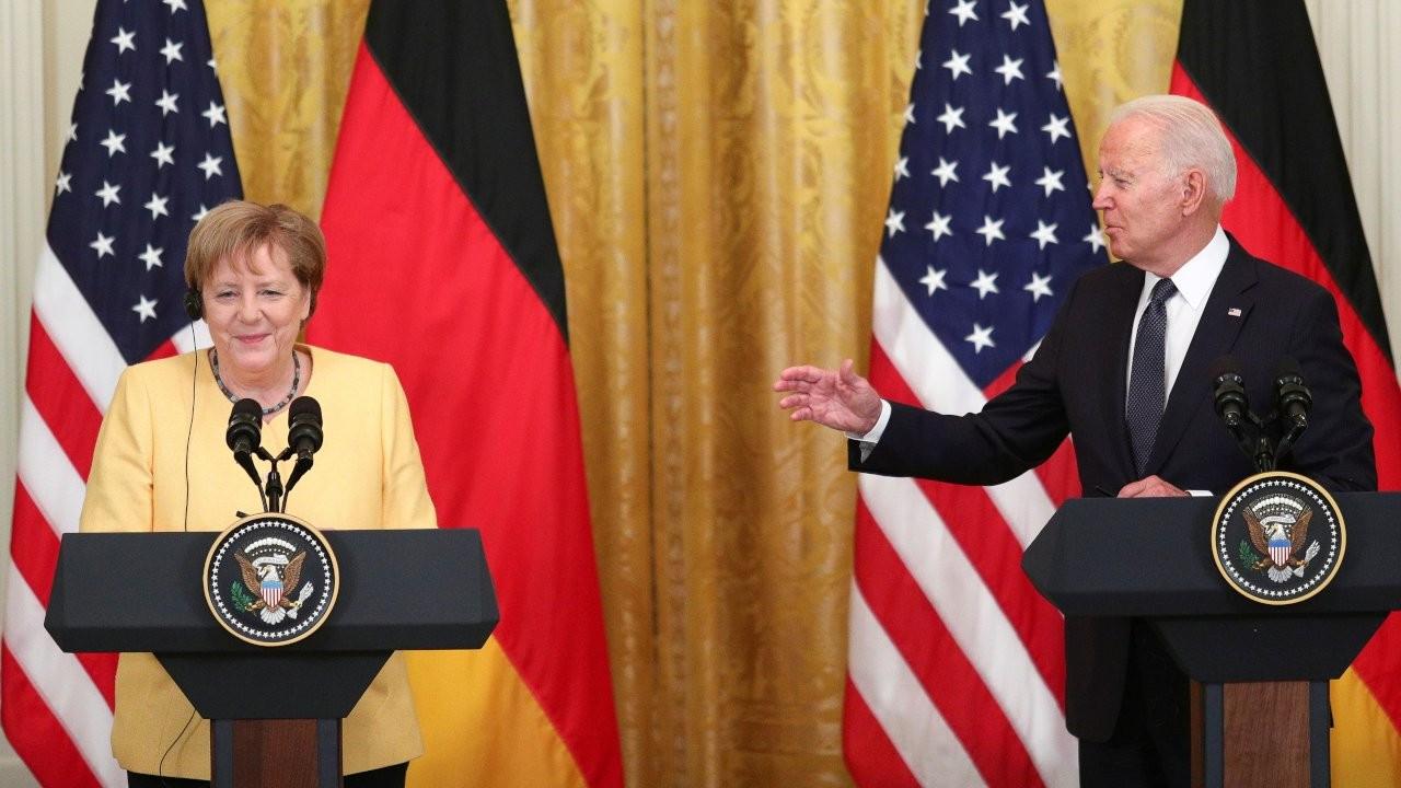 Biden ile Merkel'den Rusya ve Çin'e karşı 'birlik' mesajı