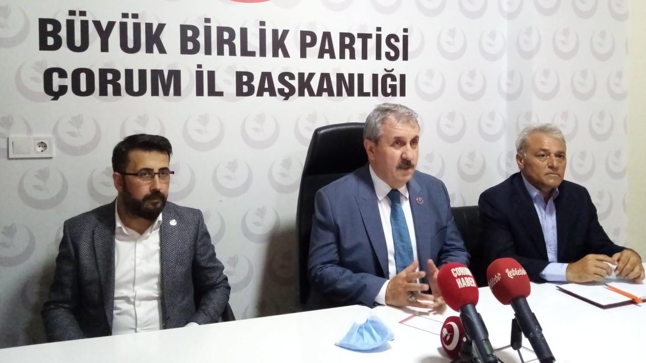 Destici: Mecliste HDP'lilerle MHP dahil tüm partilerin muhabbeti iyi