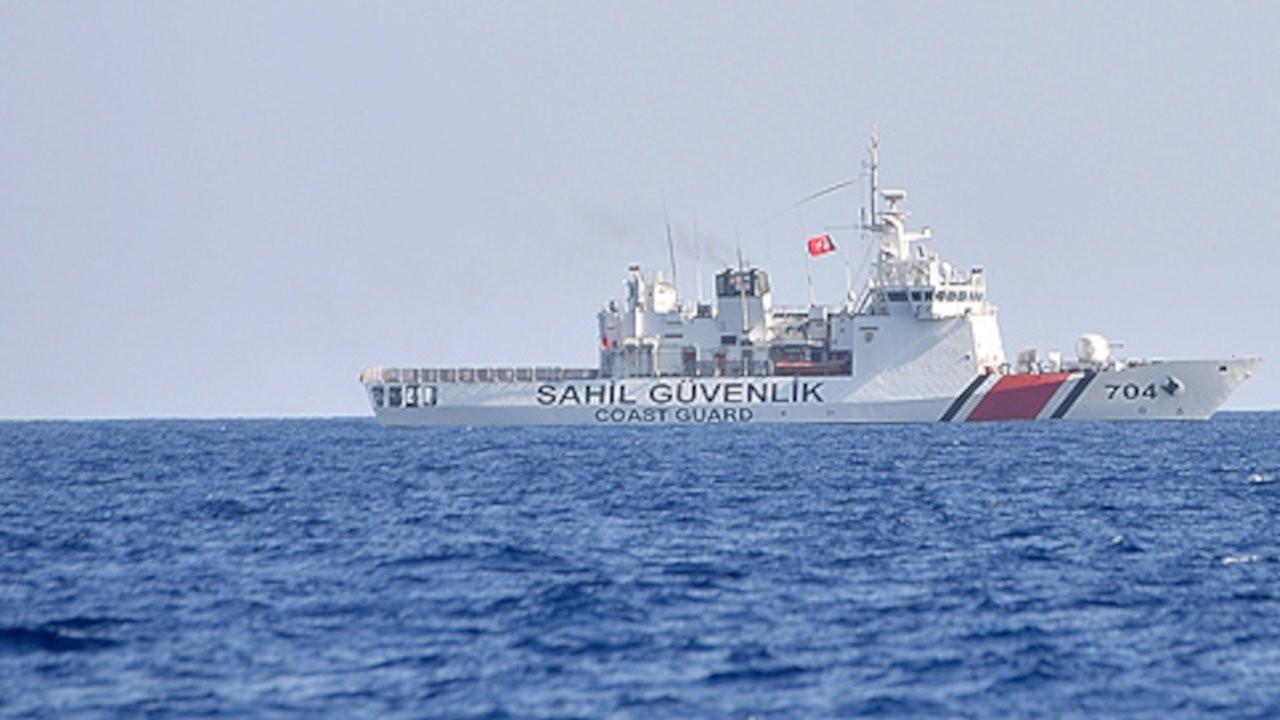 Güney Kıbrıs polisi: Türk sahil güvenliği uyarı ateşi açtı