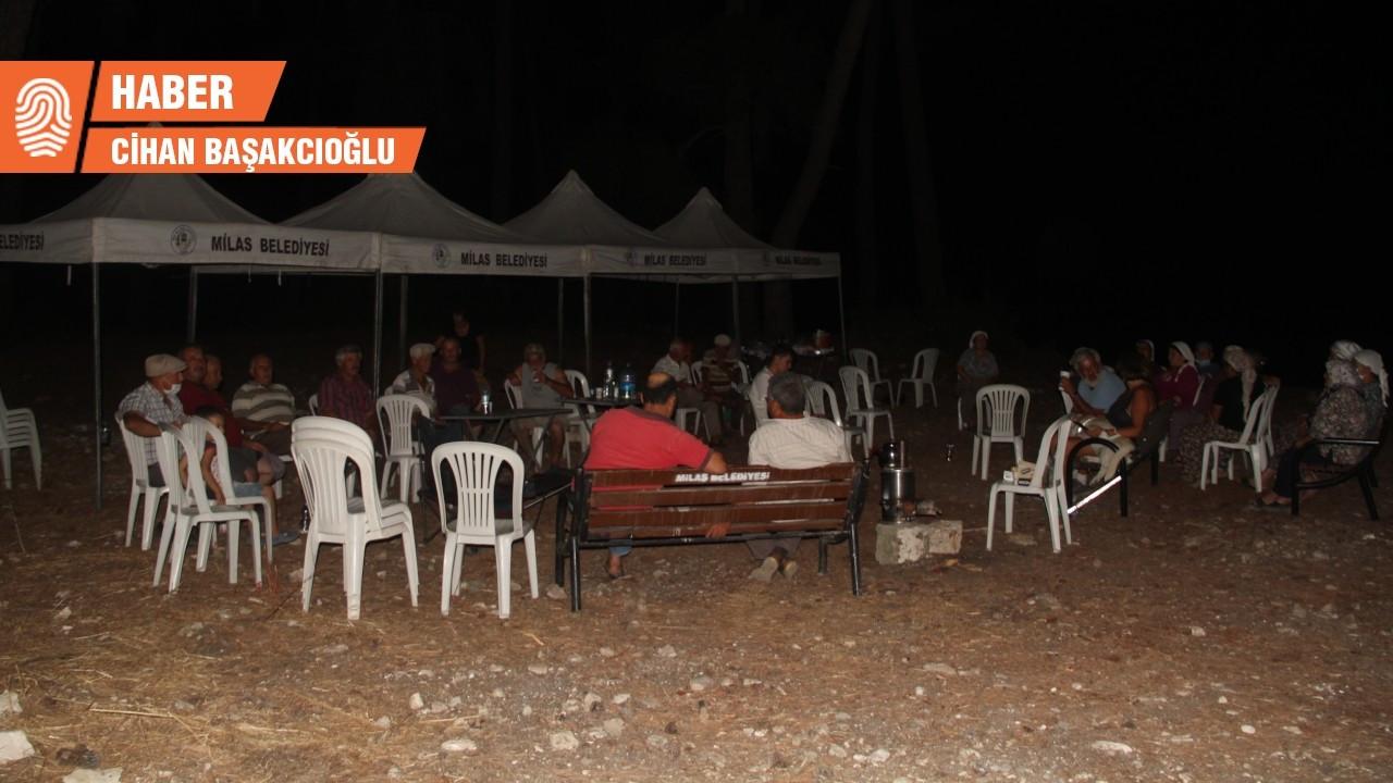 Akbelen'de nöbet eylemi: Çadırlar kuruldu, bekleyiş sürüyor