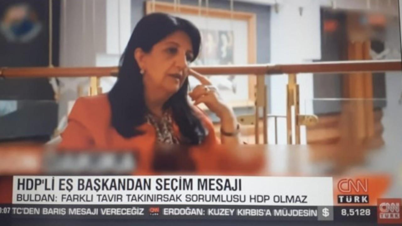 CNN Türk Mezopotamya Ajansı'nın haberini kullanıp logosunu sansürledi