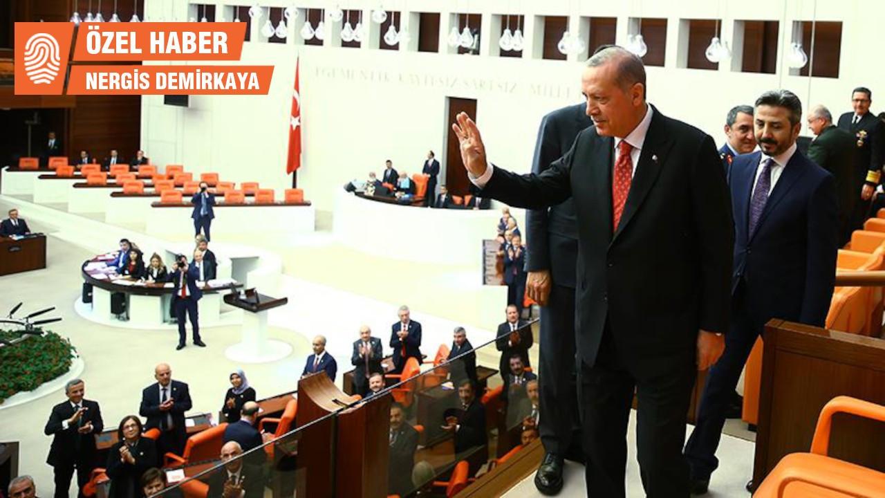 Yeni sistemin 3 yıllık bilançosu... Erdoğan: 80, Meclis: 80
