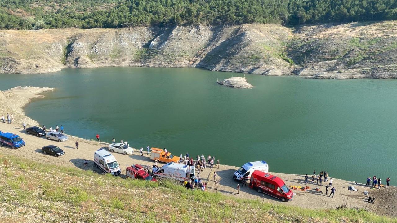 Amasya'da baraj gölüne giren aynı aileden 5 kişi boğuldu