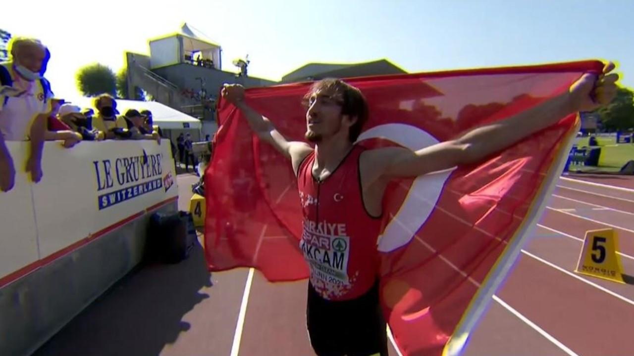 Milli atlet Berke Akçam Avrupa şampiyonu oldu