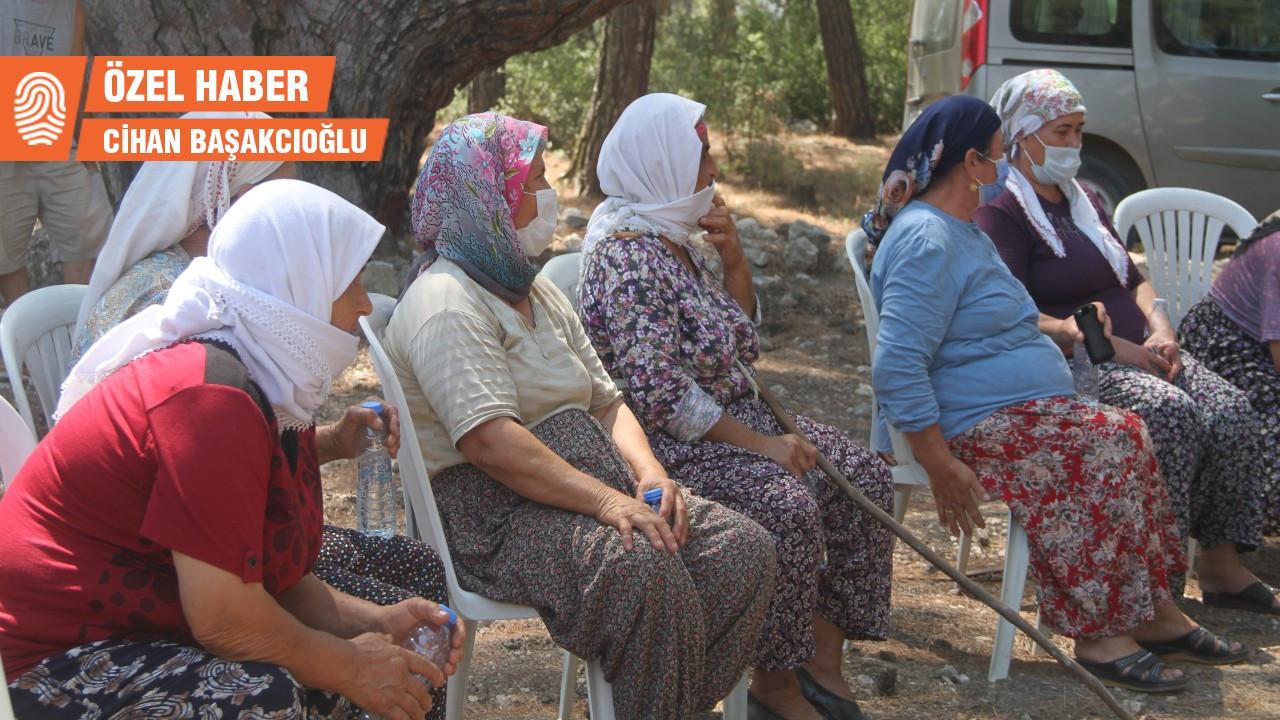 Akbelen'de kesime direnişin öncüsü kadınlar: Git diyorlar, nereye gidelim?