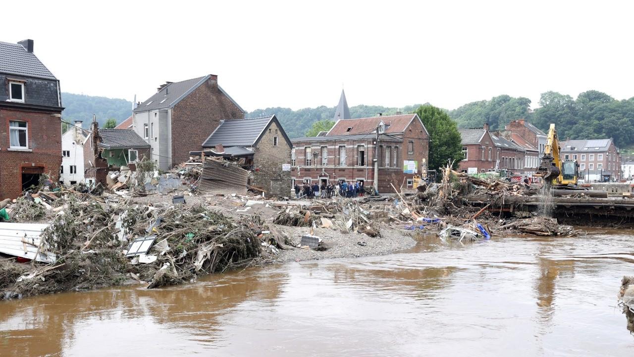 Belçika'daki sel felaketinde ölü sayısı 37'ye çıktı