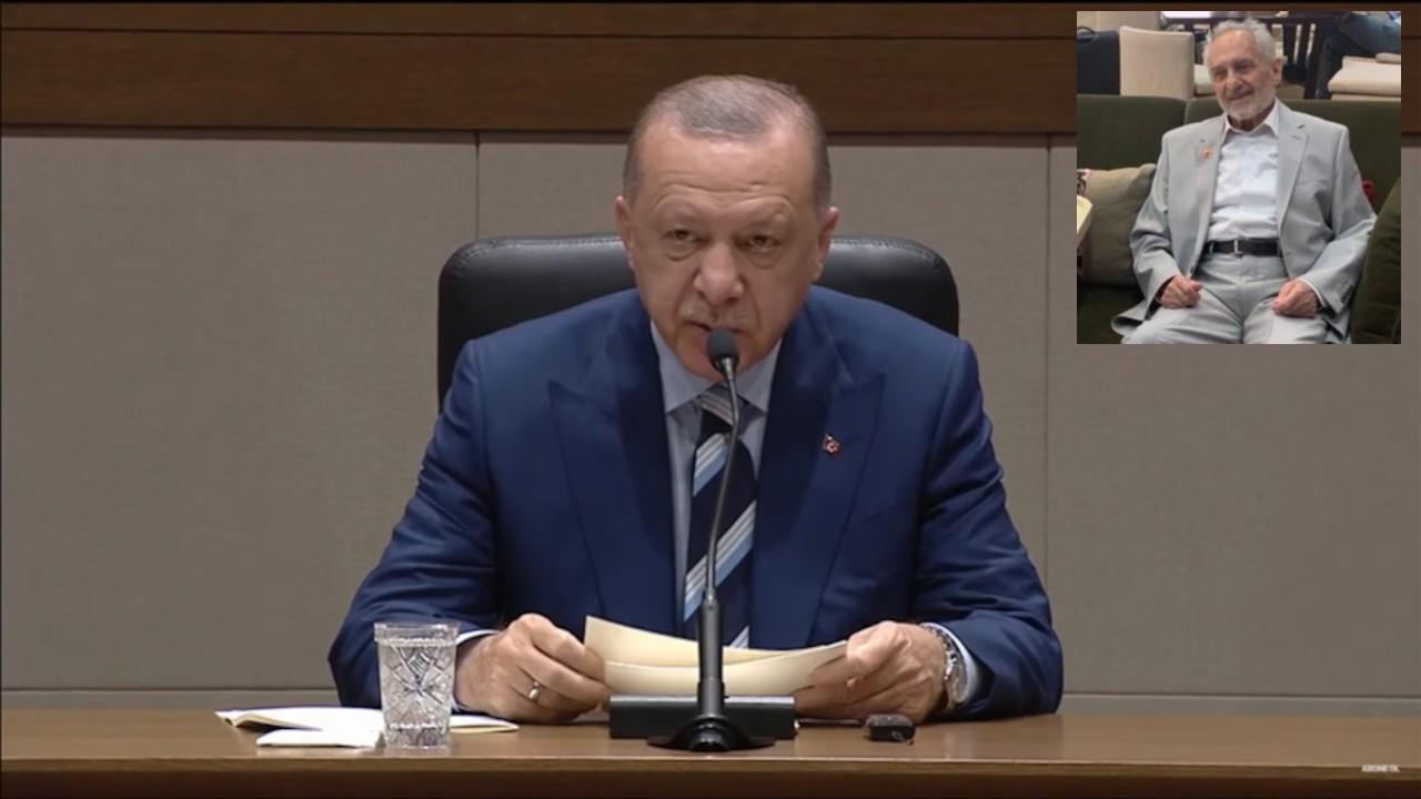 Erdoğan Kıbrıs'a Asiltürk'le gitti