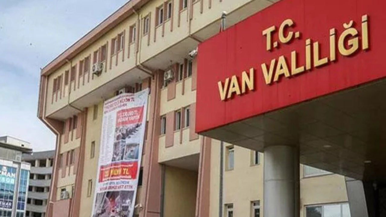 Van'da gösteri yürüyüşü ve açık hava toplantıları yasaklandı