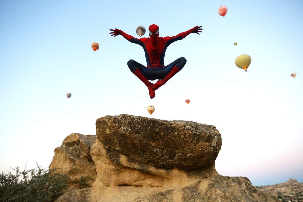 Örümcek Adam Kurban Bayramı tatilini Kapadokya'da geçirdi - Sayfa 2