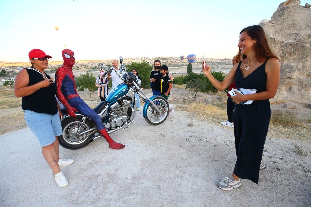Örümcek Adam Kurban Bayramı tatilini Kapadokya'da geçirdi - Sayfa 3