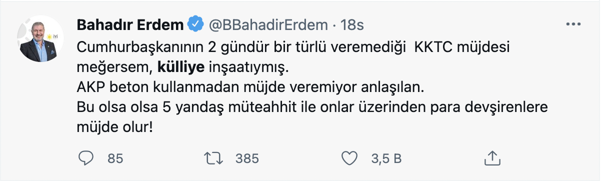 Erdoğan'ın KKTC müjdesine sosyal medyada tepki yağdı: Yavru külliye - Sayfa 4