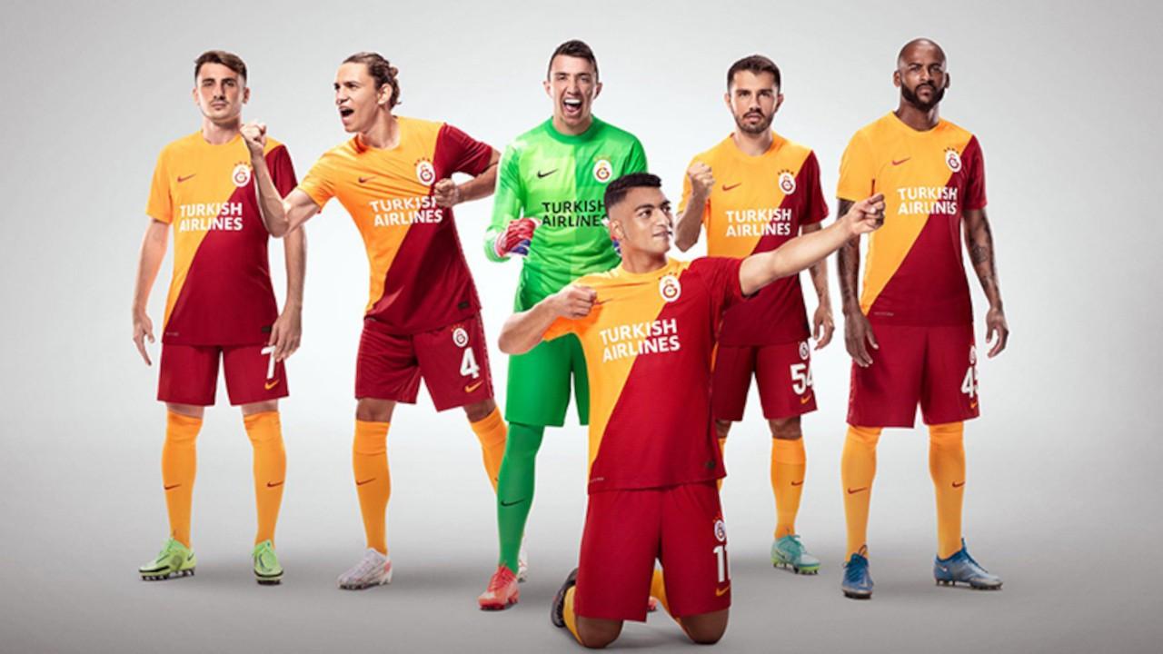 THY Galatasaray'ın Avrupa kupalarındaki forma sponsoru oldu