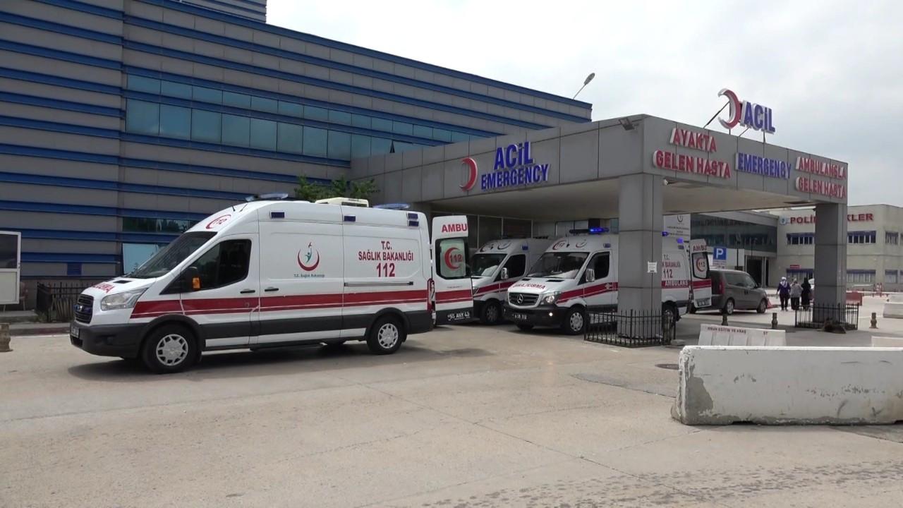 Samsun'da silahlı kavga: 1'i ağır 2 yaralı