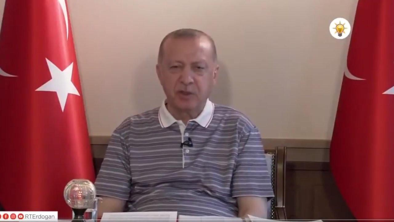 Erdoğan'ın bayramlaşma videosundaki uykusuz hali gündem oldu