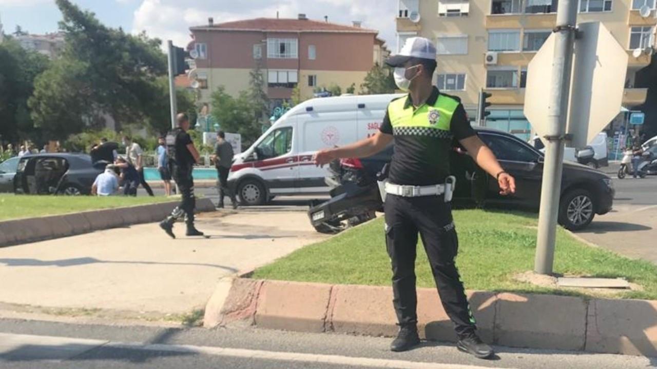 Mustafa Şentop'un konvoyunda kaza: 3 yaralı