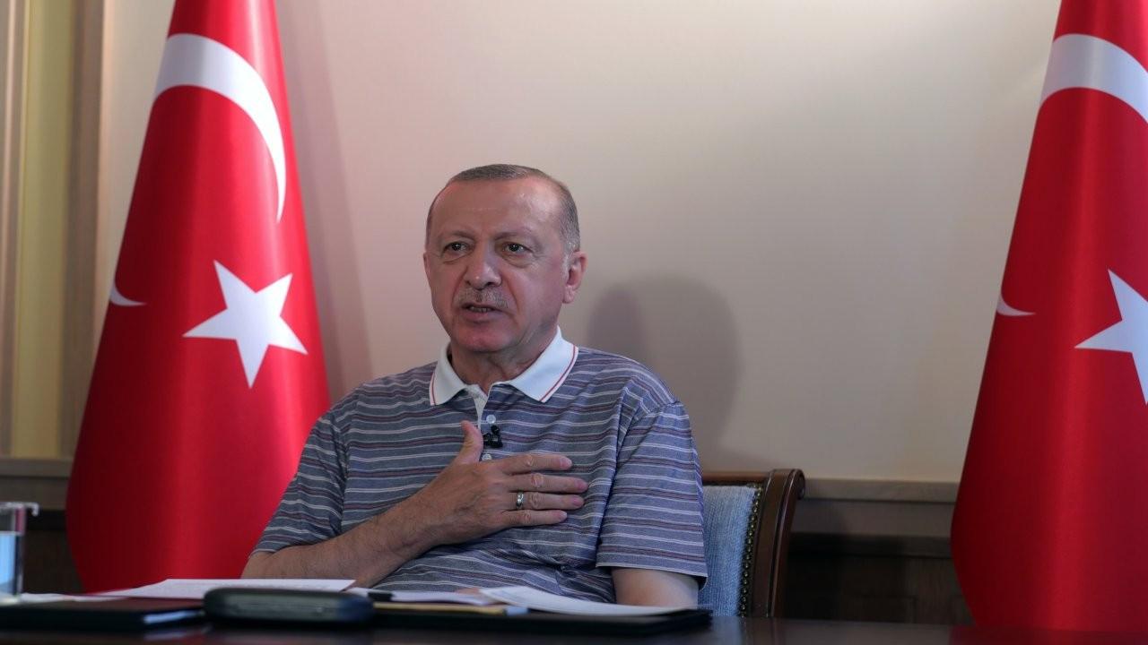 Erdoğan: Artık bizim için kuzey-güney Kıbrıs yoktur