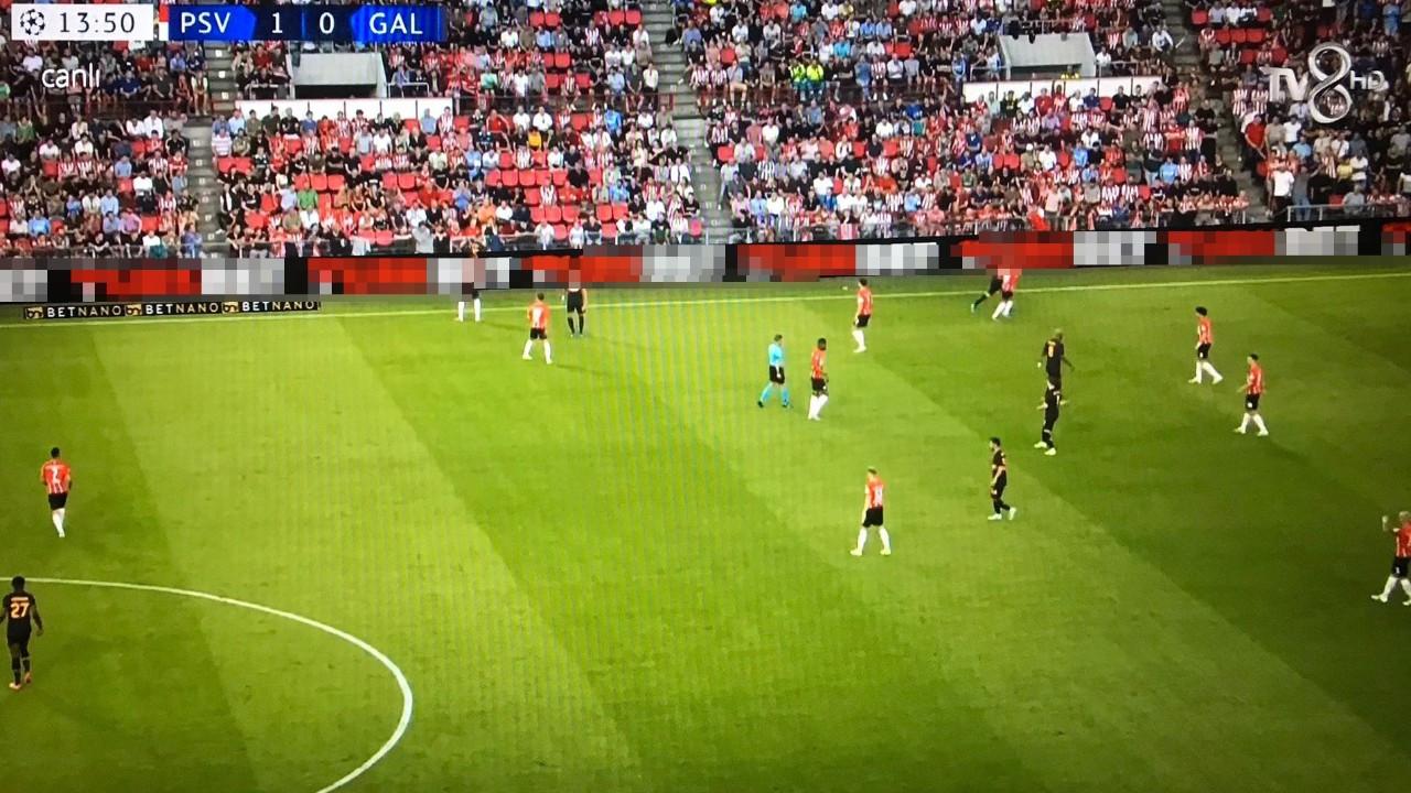 TV8'deki maç yayınında yasadışı bahis sitesi reklamı yayınladı