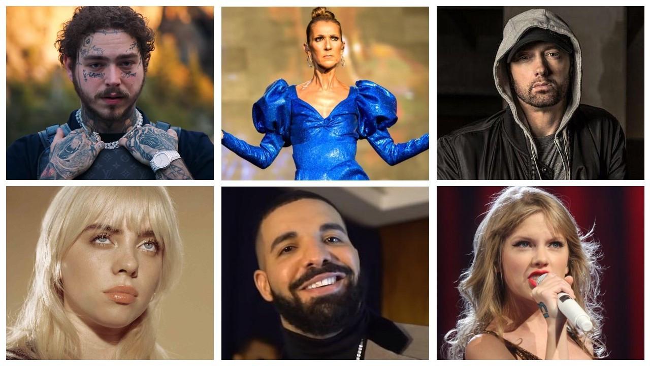 Billboard'a göre 2020'de en çok kazanan 20 müzisyen