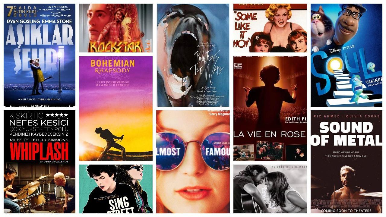 IMDb'ye göre en yüksek puanlı 50 müzik filmi