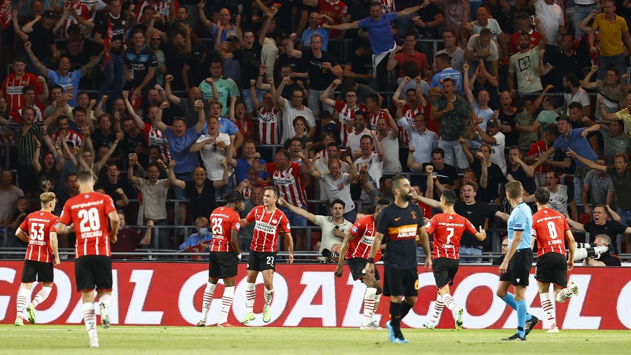 Galatasaray PSV sınavında