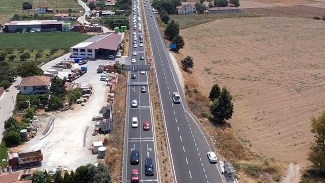 Bodrum'dan son 24 saatte 70 bin araç çıkış yaptı