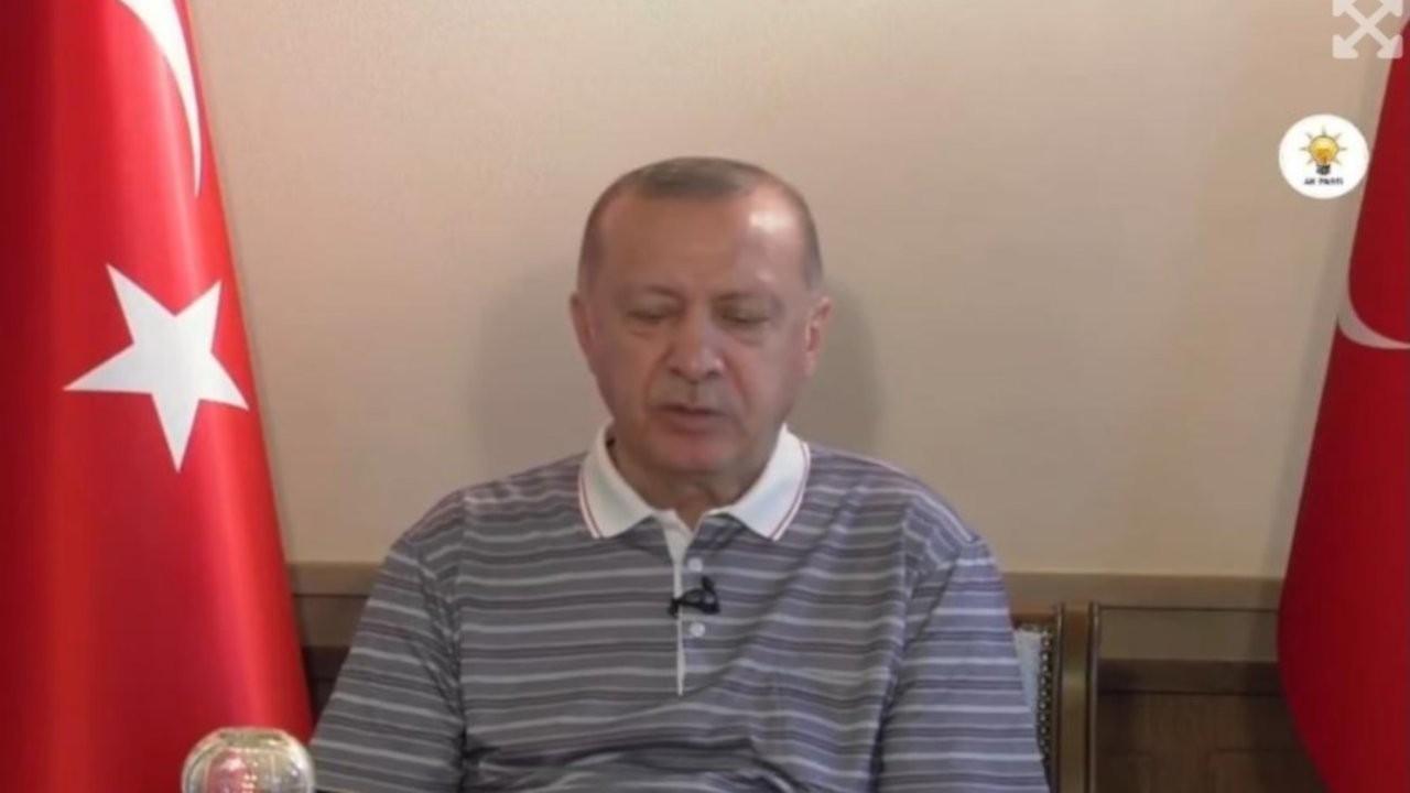 Bildirici: Cumhurbaşkanı Erdoğan'ın konuşurken uyuklaması haberdir