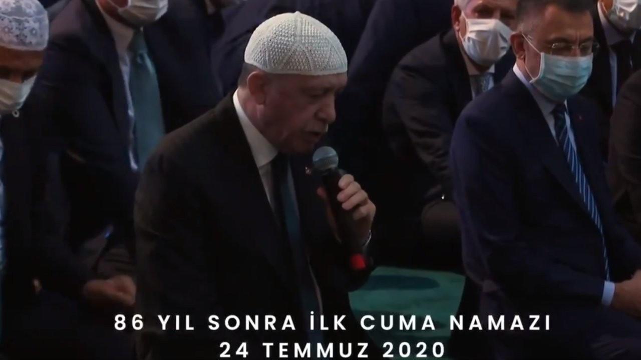 Erdoğan'dan Ayasofya mesajı: Ezanlar kıyamete kadar eksik olmayacak