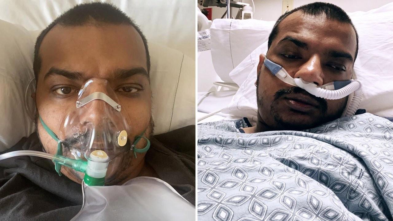 ABD'de aşı karşıtı bir adam 34 yaşında koronadan öldü
