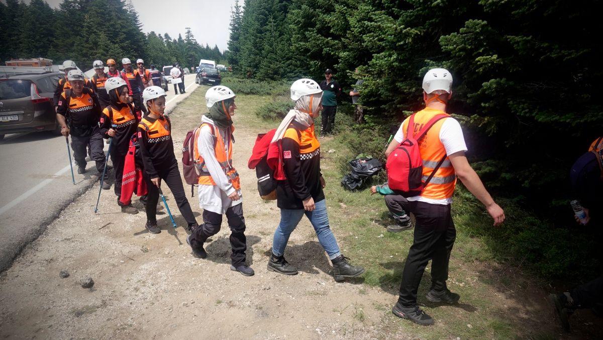 Uludağ'da ormanda kaybolan kadın 53 saat sonra sağ bulundu - Sayfa 1