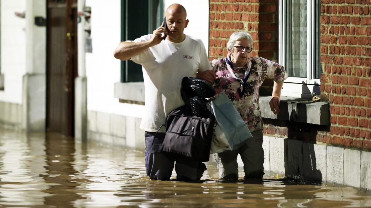 Belçika 10 gün sonra tekrar sel felaketi
