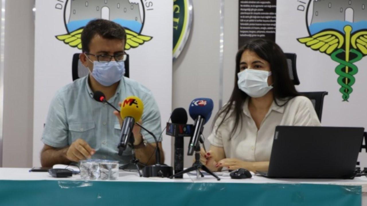 Diyarbakır Tabip Odası muhtarlarla aşı toplantısı yaptı