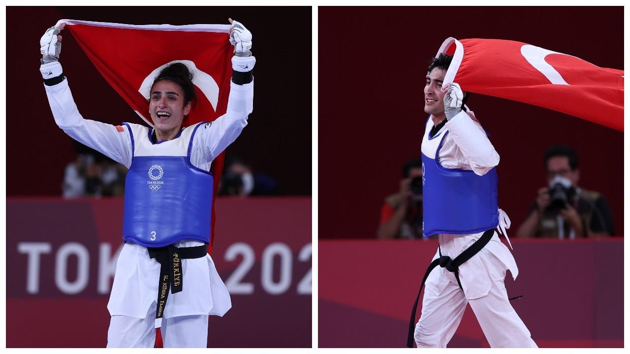 Türkiye olimpiyatlardaki ilk iki madalyasını tekvandoda aldı