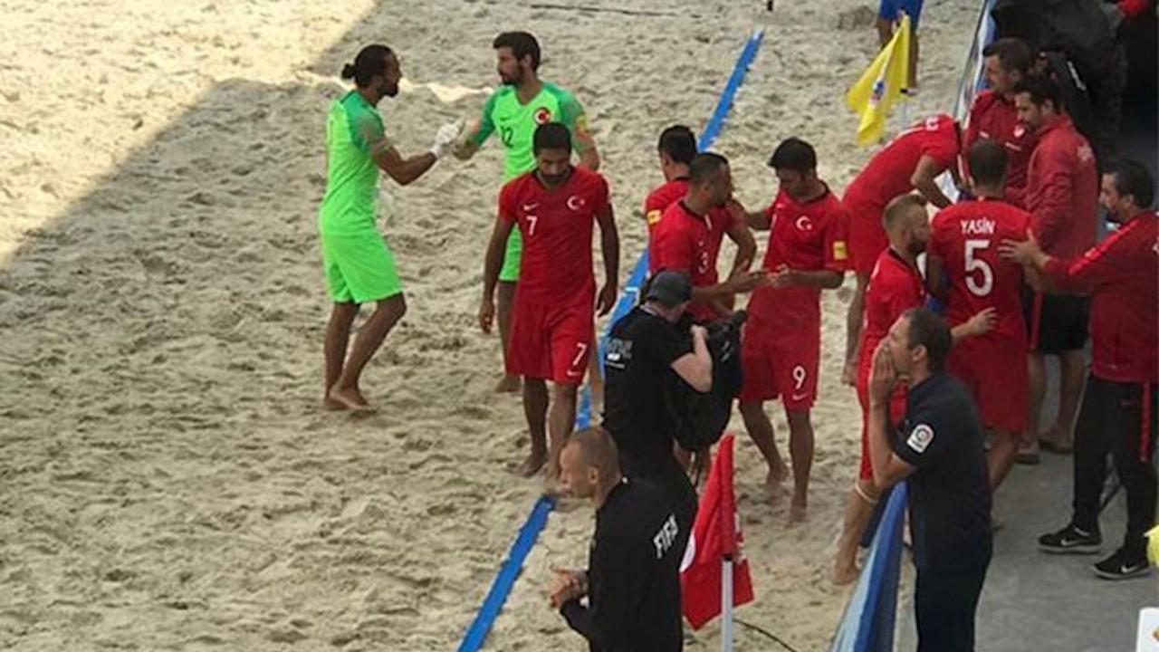 Türkiye Plaj Futbolu Milli Takımı, Umman'a 7-0 yenildi