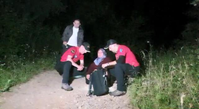 Uludağ'da ormanda kaybolan kadın 53 saat sonra sağ bulundu - Sayfa 2