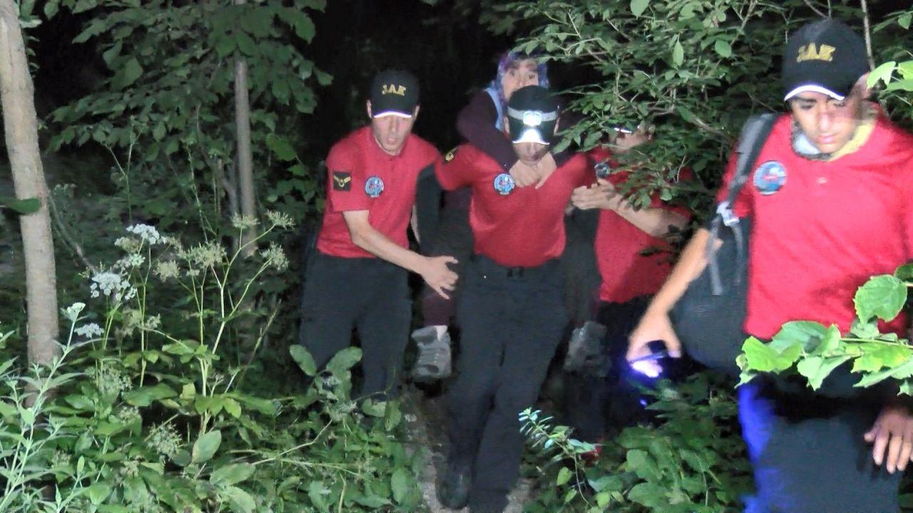 Uludağ'da ormanda kaybolan kadın 53 saat sonra sağ bulundu - Sayfa 3