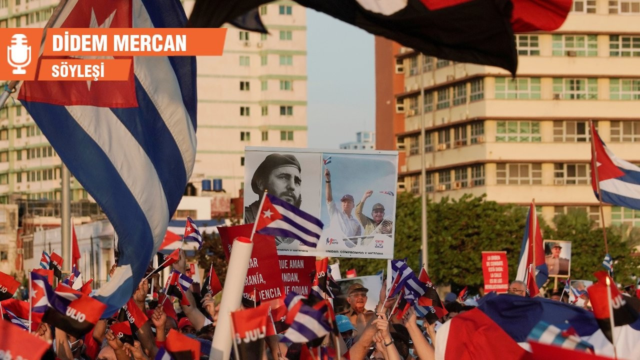 'Biden'ın Kübalılara sempati duyduğu iddiası ikiyüzlülüğün zirvesi'