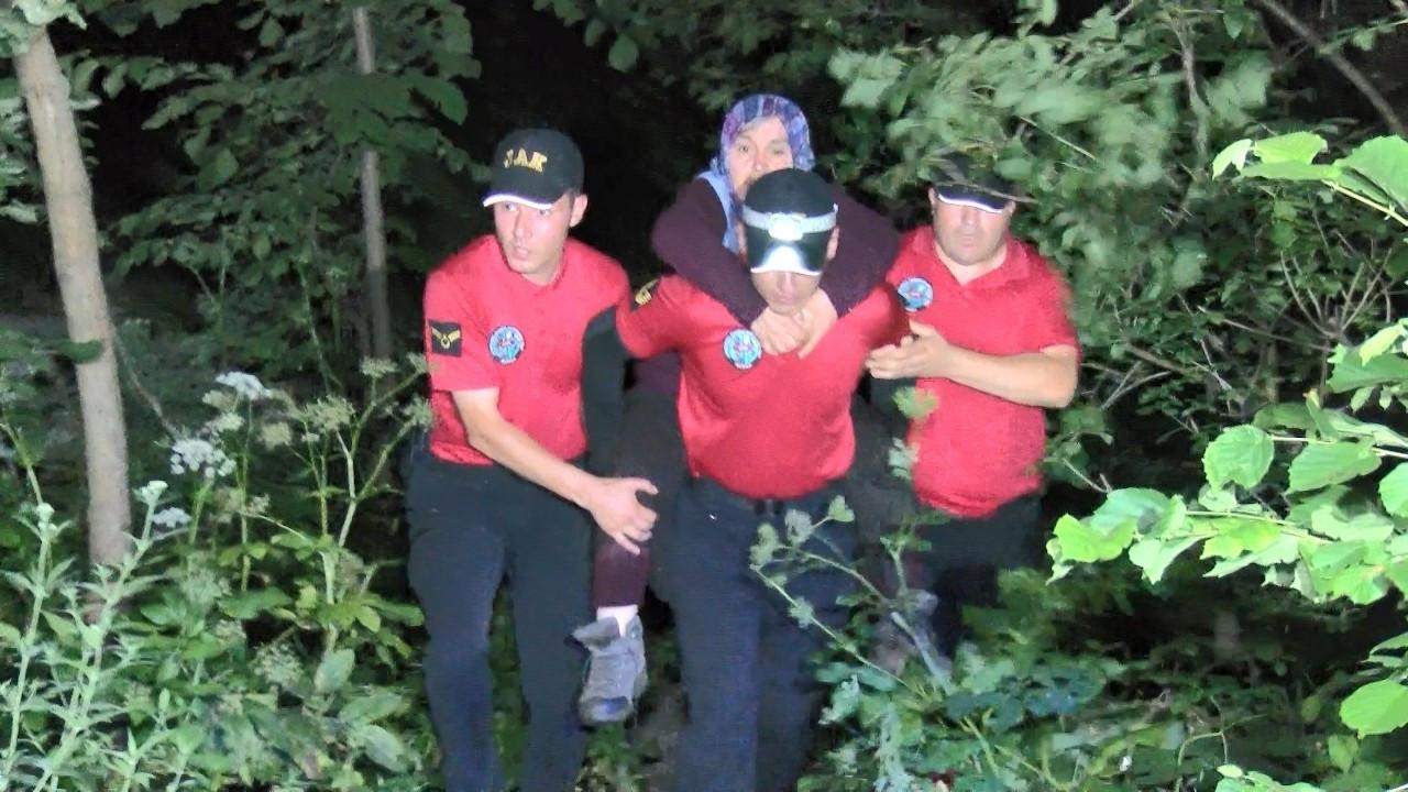 Uludağ'da ormanda kaybolan kadın 53 saat sonra sağ bulundu