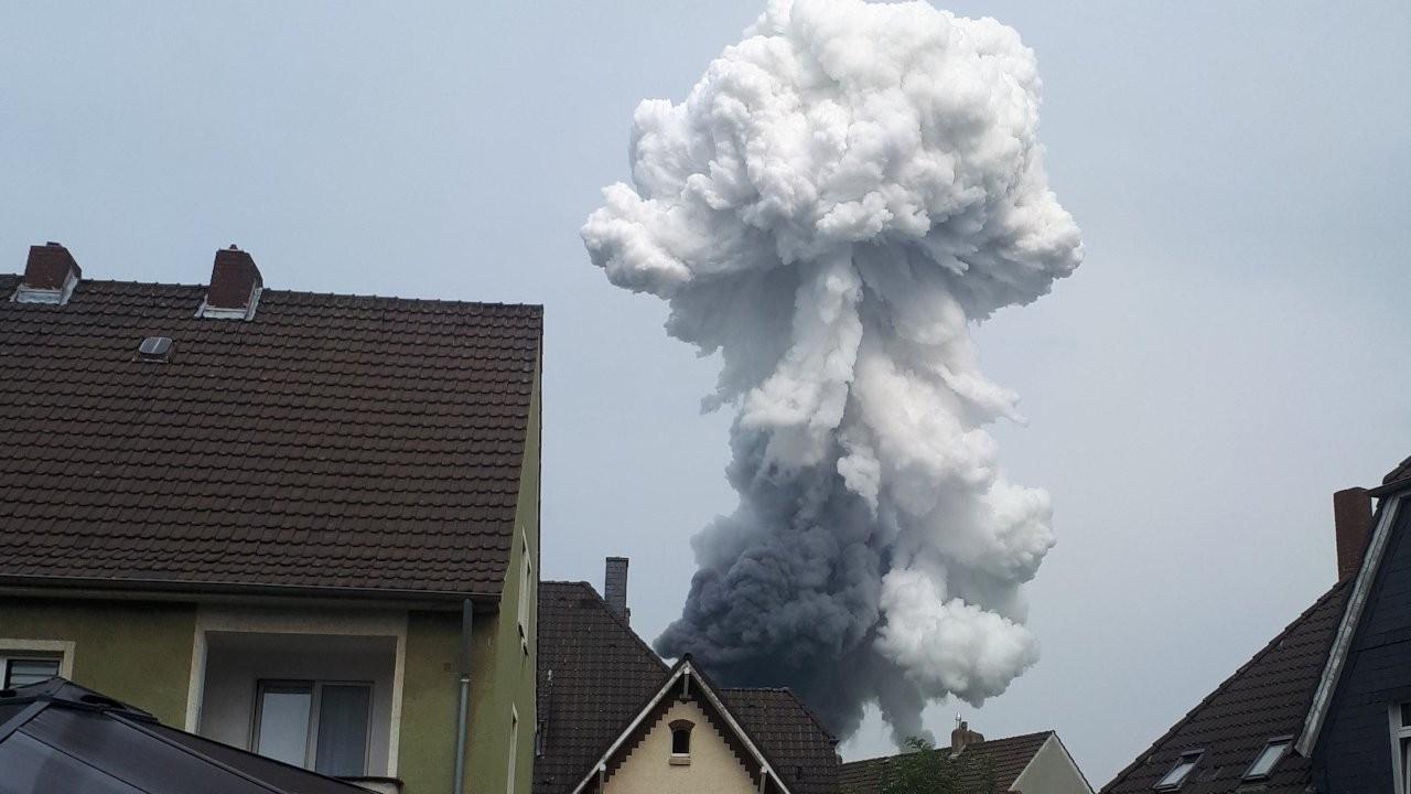 Almanya'da kimyasal tesiste patlama: En az iki yaralı, beş kişi kayıp