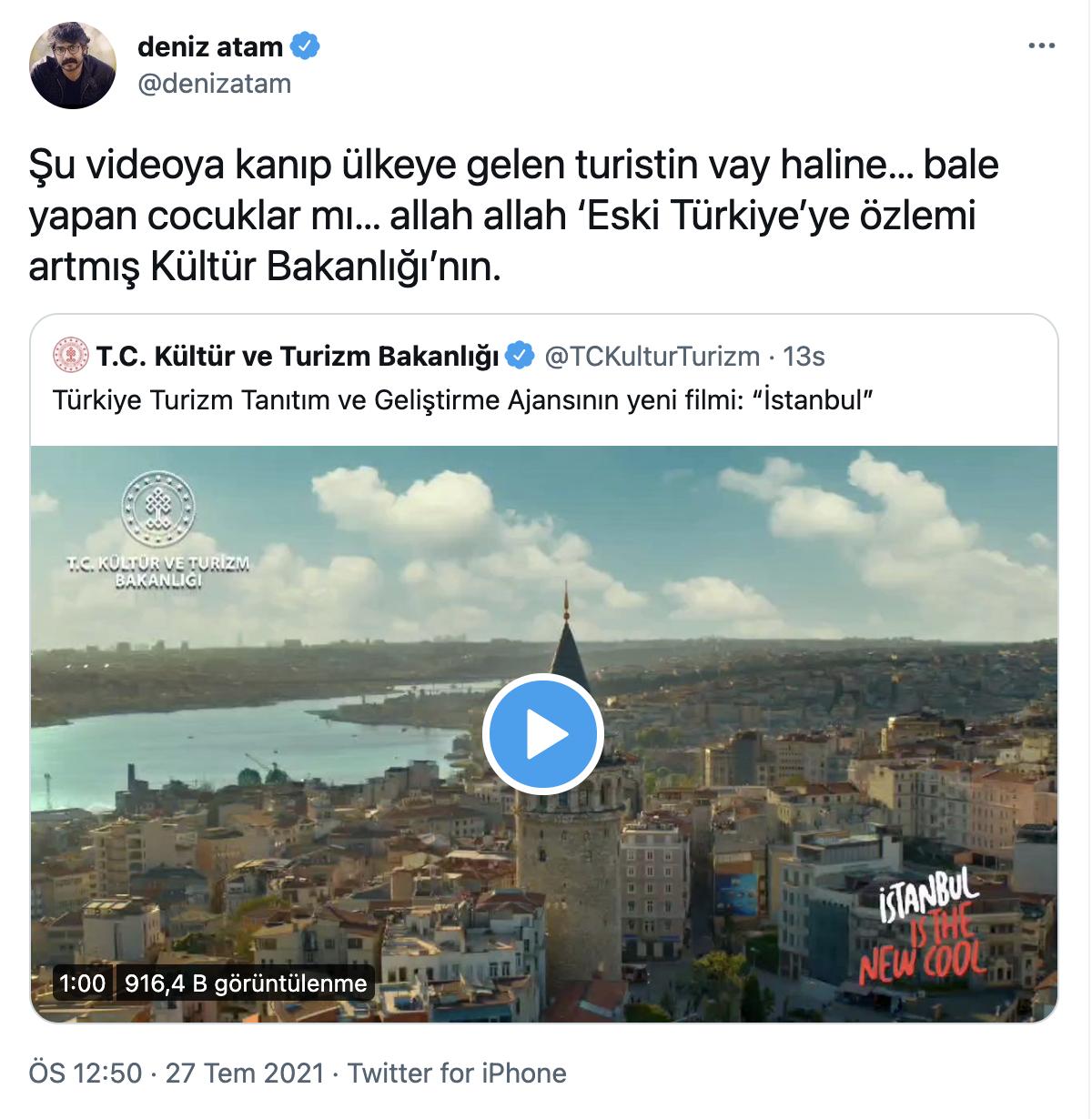 Turizm Bakanlığı'nın 'İstanbul' filmine tepki: Linçledikleri yaşam tarzıyla turistlere reklam yapıyorlar - Sayfa 4