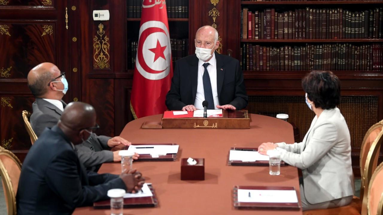 Tunus Cumhurbaşkanı Said: Anayasa'yı uyguladım