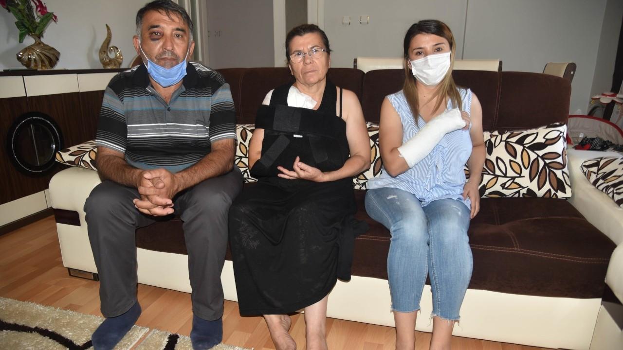 Arsa davasında şahitlik yapan aileye sokak ortasında saldırı
