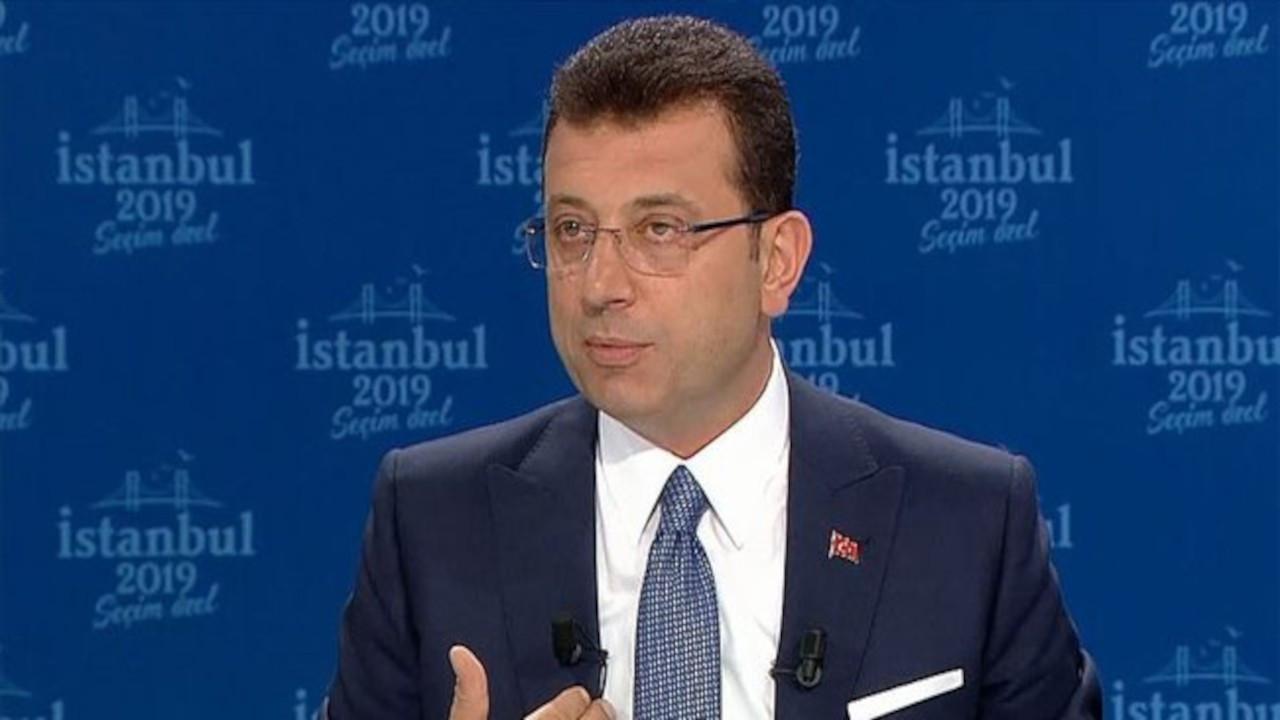 İmamoğlu'ndan Tanju Özcan'a tepki: Kabul etmiyorum
