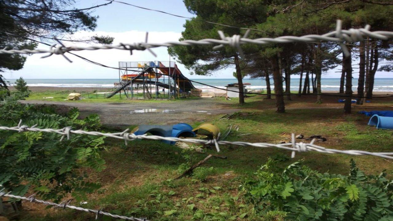 Ünye'de sahil halka kapatıldı