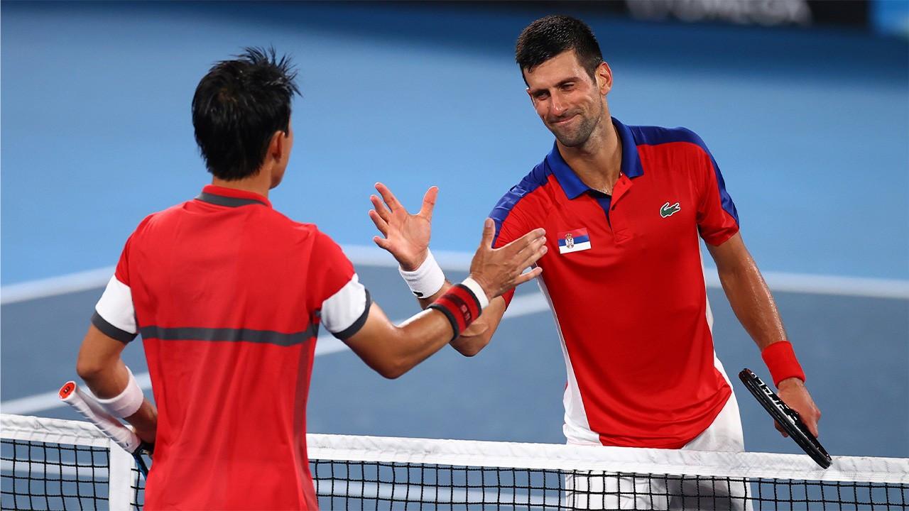 Djokovic olimpiyatlarda yarı finale yükseldi