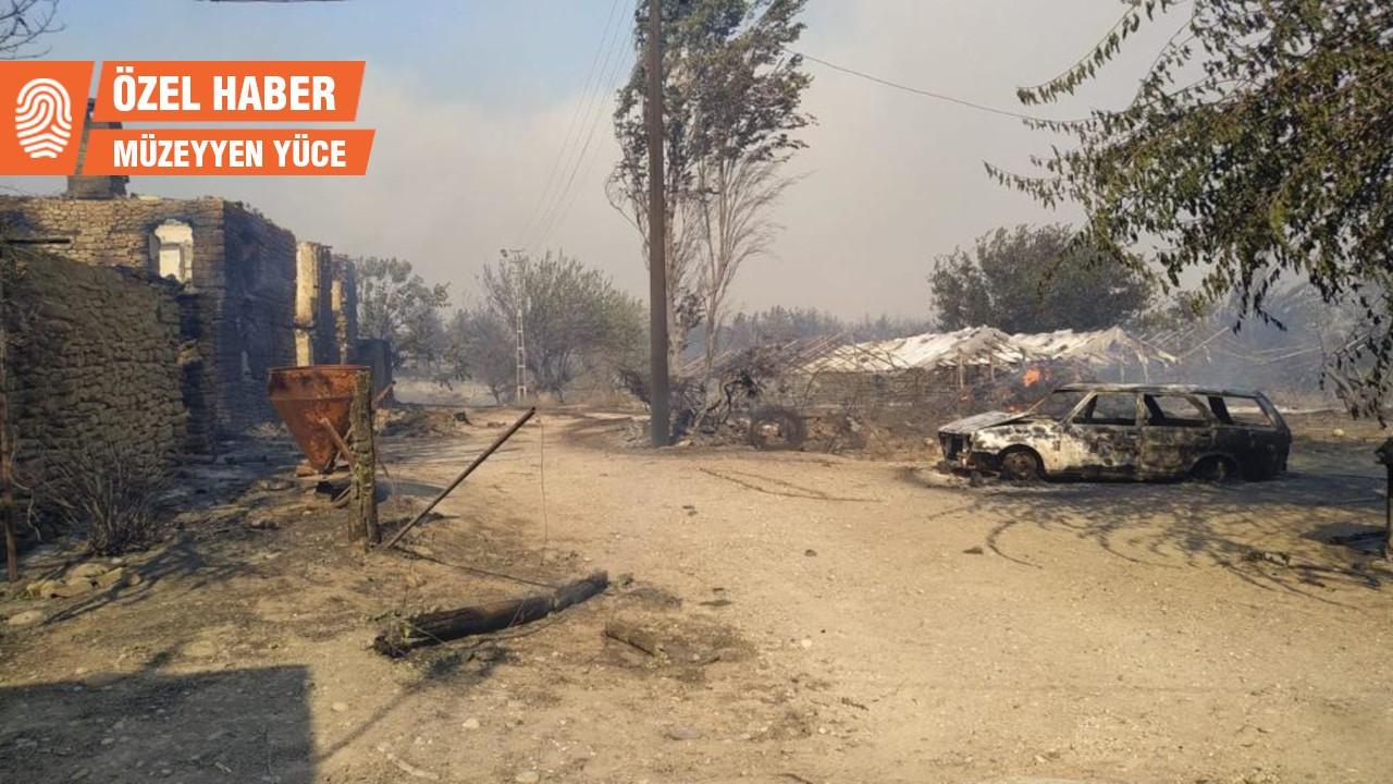 Manavgat yangını:Alevlerin boyu 7-8 metreye çıkmıştı