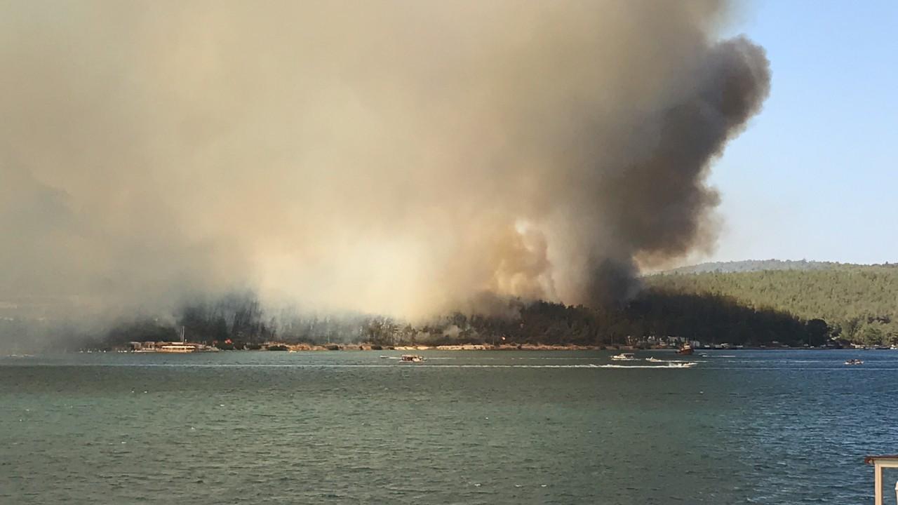 'Yangınların ortaya çıkış sebebi üzerine soruşturmalar başlatıldı'