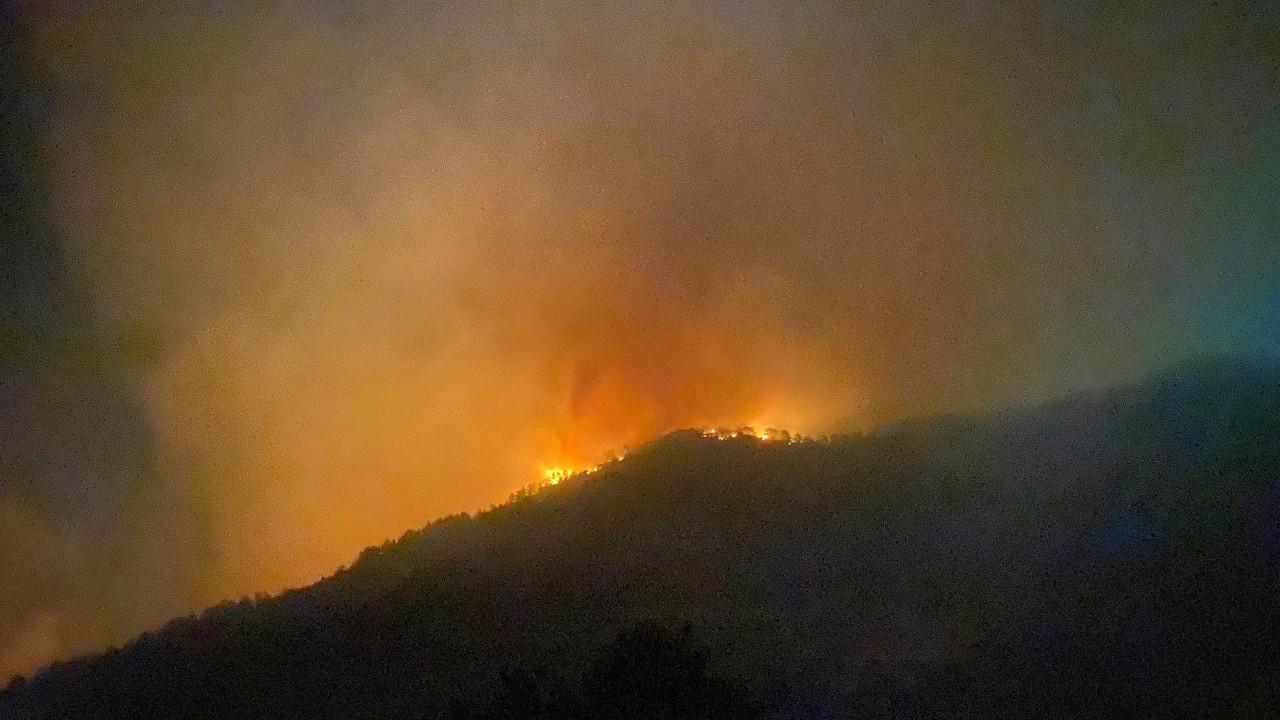 Antalya Gazipaşa'da da orman yangını başladı